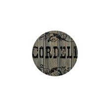 Cordell, Western Themed Mini Button