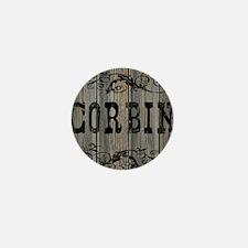 Corbin, Western Themed Mini Button