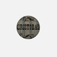 Cristobal, Western Themed Mini Button