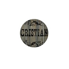 Cristian, Western Themed Mini Button