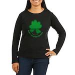Feliz San Patricio Women's Long Sleeve Dark T-Shir