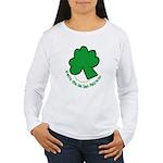 Feliz San Patricio Women's Long Sleeve T-Shirt