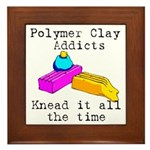 Polymer Clay Addicts Framed Tile