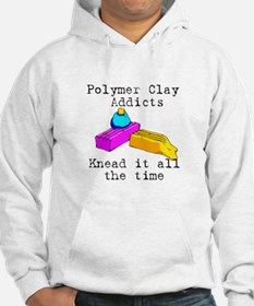 Polymer Clay Addicts Hoodie