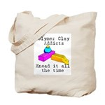 Polymer Clay Addicts Tote Bag