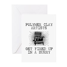 Polymer Clay Artists Greeting Cards (Pk of 10)