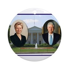 Madame President & Mr. President Ornament (Round)