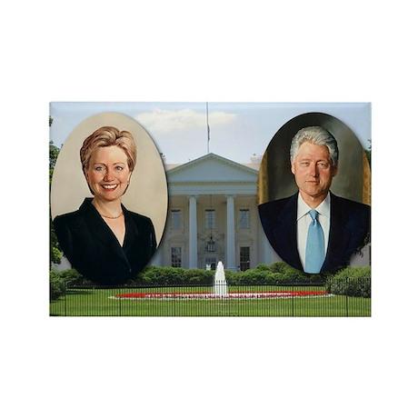 Madame President & Mr. President Rectangle Magnet