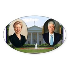 Madame President & Mr. President Oval Decal