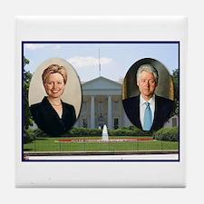 Madame President & Mr. President Tile Coaster