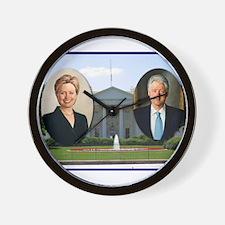 Madame President & Mr. President Wall Clock