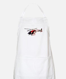 American Flag Helicopter BBQ Apron