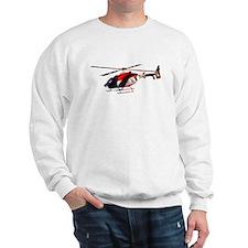 American Flag Helicopter Sweatshirt