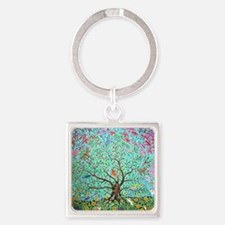 tree of life 4 Square Keychain