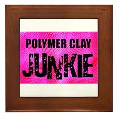 Polymer Clay Junkie Framed Tile