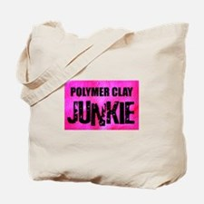 Polymer Clay Junkie Tote Bag