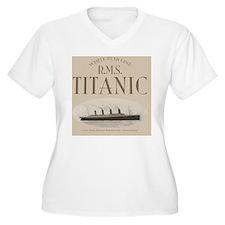 RMS Titanic Sepia T-Shirt