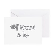 Hot Momma 2 be Greeting Cards (Pk of 10)