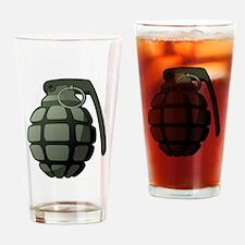Grenade Drinking Glass