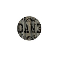 Dane, Western Themed Mini Button