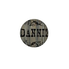 Dannie, Western Themed Mini Button