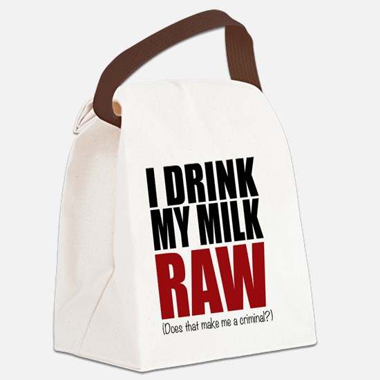 Raw baby Canvas Lunch Bag