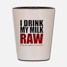 Raw baby Shot Glass