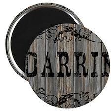 Darrin, Western Themed Magnet