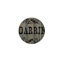 Darrin, Western Themed Mini Button