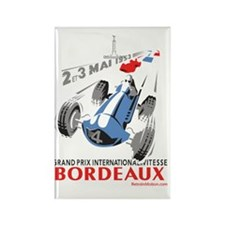 Grand Prix Bordeaux Rectangle Magnet