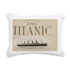 RMSTitanicbeercooler9.85 Rectangular Canvas Pillow