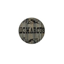 Demarcus, Western Themed Mini Button