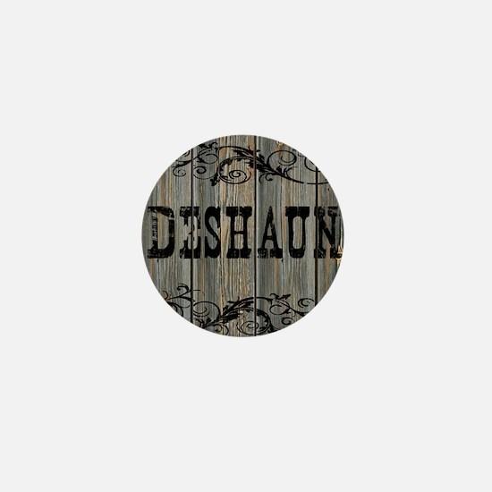 Deshaun, Western Themed Mini Button