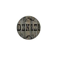 Denzel, Western Themed Mini Button