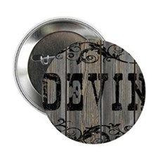 """Devin, Western Themed 2.25"""" Button"""