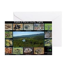 snakes warren co Greeting Card