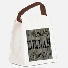 Dillan, Western Themed Canvas Lunch Bag