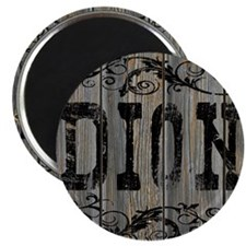 Dion, Western Themed Magnet