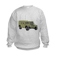 Military Humvee Sweatshirt