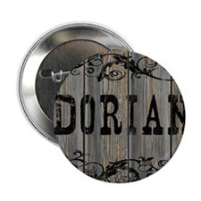 "Dorian, Western Themed 2.25"" Button"