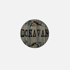 Donavan, Western Themed Mini Button