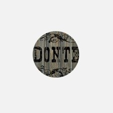 Donte, Western Themed Mini Button