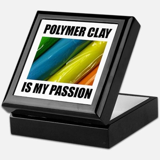 Polymer Clay is my Passion Keepsake Box