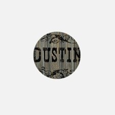 Dustin, Western Themed Mini Button