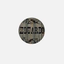 Eduardo, Western Themed Mini Button