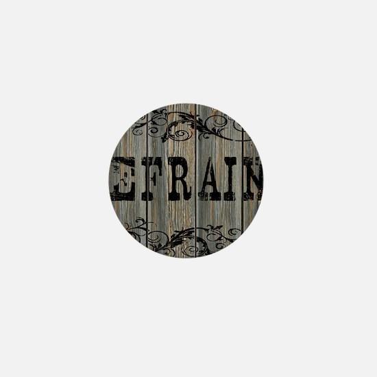Efrain, Western Themed Mini Button