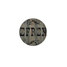 Efren, Western Themed Mini Button