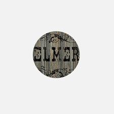 Elmer, Western Themed Mini Button