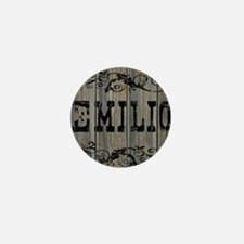Emilio, Western Themed Mini Button