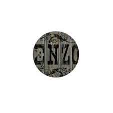 Enzo, Western Themed Mini Button